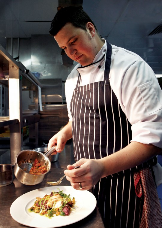 MEET THE CHEF: Daniel Dennis at the St Ives Harbour Hotel
