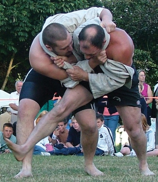 Cornish Wrestling