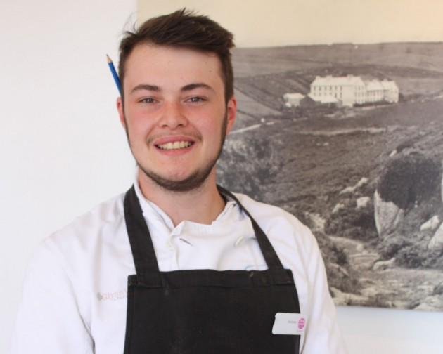 MEET THE CHEF: Nicholas George Lewis Usher, the Telegraph Museum Porthcurno