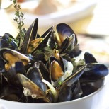 Mussels and muscadet