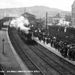 Redruth Station weekly exodus_1905