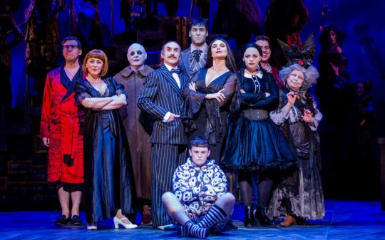 The Addams Family Musical at The Hall for Cornwall.