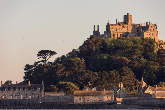 Working on One of Cornwall's Most Famous Landmarks – St Michael's Mount