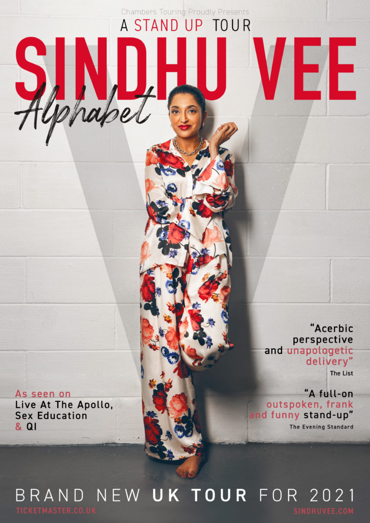 Comedian Sindhu Vee's forthcoming tour
